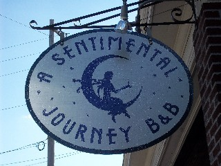 A Sentimental Journey Gettysburg, PA Gift Certificates